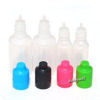 Wholesale Tamper Proof Dropper Bottles - High Quality E Juice Bottle PE 10ml 30ml Dropper Bottle With Tamper Evident Child Proof Cap Long Thin Tip Fast Shipping