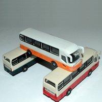 Wholesale School Bus Building Toys - 1 100 scale architecture school bus toy model bus car for ho scale train design layout