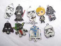Wholesale Diy Slide Charms Stars - New Classic Cartoon Star Wars Charm Pendants DIY Jewelry Making Free Shipping D-04