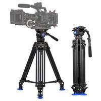 ingrosso caricare il filmato-Benodec BV10 Videocamera professionale Videocamera Kit treppiede Caricamento 10 kg / 22 lb per ripresa di filmati cinematografici / Trasmissione dal vivo / Registrazione di matrimoni
