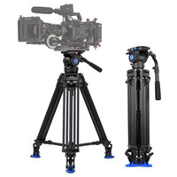 Wholesale Tripod Kit - Benro BV10 Professional Video Camera Camcorder Tripod Kit Loading 10kg 22lb for Movie-TV Shooting   Live Broadcast   Wedding Recording