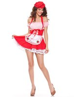 Wholesale Adult Alice Costume - Wholesale-Adult Alice in Wonderland Halloween Maid Costumes Womens sexy party Suit Maids Lolita Fancy Dress Cosplay Costume for Women Girl