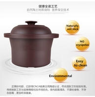 Wholesale Slow Cookers - 1.0L 135W soup cooker fully-automatic ceramic health pot casserole electric slow cooker Health Preserving Pot