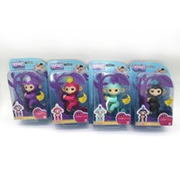 Wholesale Wholesale Toy Used - DHL! Interactive Fingerlings Toys Smart Finger Monkeys Party Favor Baby Kids Christmas Gifts with Use Manual + Retail Box (Cann't Blinking)