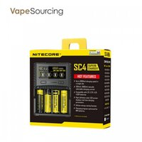 Wholesale Battery Charger Technology - Authentic Nitecore SC4 Superb Charger LCD screen with MVA technology vs NITECORE SC2 3A Battery Charger 16500 18650 26500