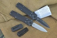 Wholesale Edc Belt - Camping Gear Powerglide Folding Knife With Belt Clip Power Glide Tanto Blade Stealthy Black Handle Multi Tool Kit F335L