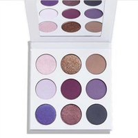 Wholesale Cosmetic Stocks - in stock!!Cosmetics Kyshadow eye shadow Kit Eyeshadow BRONZE and BURGUNDY Palette Preorder Cosmetic 9 Colors Free Shipping