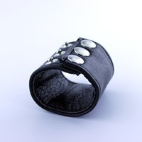 Wholesale Ball Stretching Sex - Adjustable leather testicles stretching ring ball stretcher sex toys for men A130