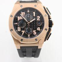 Wholesale Offshore Strap - New Luxury Brand Mens Watch Royal Oak Offshore Limited Edition Lebron James Quartz Movement Stopwatch Chronograph Rubber Strap Men Watches