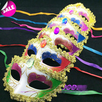 mens woman mask halloween masquerade masks mardi gras venetian dance party face gold shining plated mask 6 colors price - Classic Mens Halloween Costumes