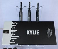 Wholesale Long Fins - KYLIE Brow definer Hills Brow Pencil 2 in 1 Double ended with eyebrow brush 0.085g 3 Color A Sourcils Fin Skinny in stock kylie kit D01