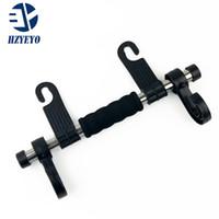 Wholesale Double Vehicle Hangers - HZYEYO Auto supplies Convenient Double Vehicle Hanger Auto Car Seat Headrest Bag Hook Holder T2032