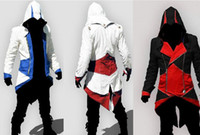 Animation Multi-Color optional Assassins Creed 3 Connor Jacke Jacke Stil Cosplay Herren COS Kleidung
