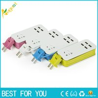 Wholesale Usb Multi Outlet - Millet multi port smart USB phone chargeing plug strip outlet with the power cord travel socket outlet