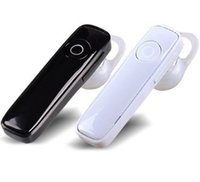 Wholesale Cheap Bluetooth Stereo - M165 Hot Cheap Wireless Stereo Bluetooth Headset Earphone Sport Mp3 Player Handsfree Headphone For Iphone Samsung DHL Free EAR180