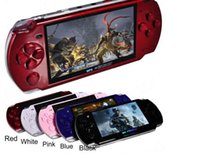 Wholesale Wholesale Console Wifi - Hot sales 8GB 4.3 Inch PMP Handheld Game Player MP3 MP4 MP5 Player Video FM Camera Portable Game Console