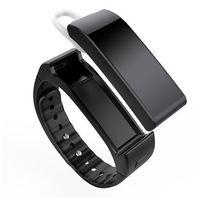 Wholesale Female Voice - Original iwown V6 Voice Smart Wristbands TalkBand Smart bracelet with Earphone Bluetooth 4.0 Smartband Sleep Monitor Smart Band
