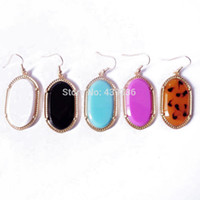 Wholesale Sweet Candy Sale Shipping - Free Shipping Wholesale Earring, Candy Color Earring, Simple Sweet Fashion New Hot Sale Geometric More Colors Earring