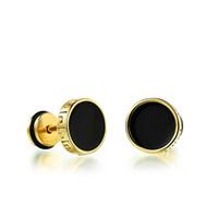 1 paire de titane acier multi strass Tricheur Illusion Oreille Plug Tunnel Boucles d/'oreilles
