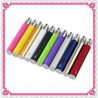 Wholesale E Cigarette Atomizer Dct - Ego t Battery E Cigarette Ego Batteries for 510 Thread mt3 CE4 CE5 CE6 ViVi Nova DCT atomizer 650 900 1100mah Colorful battery