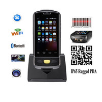 Wholesale Pda Scanners - OBM-A4 Android Handheld PDA,With Pistol Grips and Wifi,1D 2D Scanner,BT,GPS and Camera