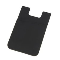 adhesivo para celular 3m al por mayor-Al por mayor-6 Color adhesivo 3M Adhesivo Portatarjetas para iPhone 6 Samsung teléfono celular