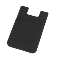 клей для мобильного телефона 3 м оптовых-Wholesale-6 Color 3M Adhesive Sticker Card Holder Pouch For iPhone 6  Cell Phone