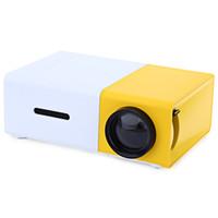 meilleur projecteur 3d complet achat en gros de-Vente en gros AAO YG300 Mini Portable LCD Projecteur 320 x 240 Pixels Soutien 1080P Avec Interface AV / USB / Carte SD / HDMI Constructeur