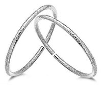 Wholesale Tibetan Wedding Jewelry - Bohemia 925 Silver Bracelets Jewelry for Women Tibetan Love Charms Wedding Bangle Bracelet Top Grade Quality Christmas Gift