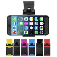 Wholesale Steering Wheel Cover Wholesale - 2016 hot selling Car Steering Wheel Mount Holder Rubber Band For iPhone For iPod MP4 GPS Mobile Phone Holders car cover without package