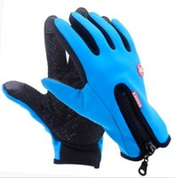 Wholesale Wholesale Military Gloves - Windproof Outdoor Sports Skiing Touch Screen Glove Cycling Bicycle Gloves Mountaineering Military Motorcycle Racing Gloves 12pcs lot