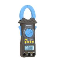 Wholesale Digital Hz Meter - HoldPeak HP-6205 6000Counts Auto Range Digital Clamp Meters Amp Volt Ohm Cap HZ Temp Meter with Auto LCD Backlight