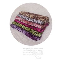 Wholesale Leopard Print Scarves For Women - Leopard Print Scarf Wraps For Women 2017 New Fashion Winter Femme Scarves Shawl Pashmina Lady's Sleek Leopard Belt with Fringe 77