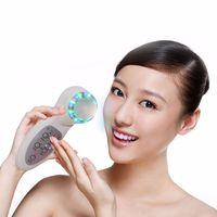 foton ultrasonik anti aging makinesi toptan satış-7 renkler foton ultrasonik PDT LED anti-aging cilt tedavisi cilt bakımı güzellik makinesi ultrasonik foton cilt