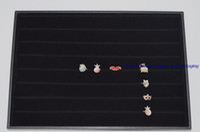 bandeja de exhibición de aretes de terciopelo al por mayor-14