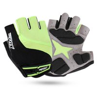 Wholesale Pink Leather Half Gloves - Synthetic Leather cycling gloves wholesale half finger bike gloves