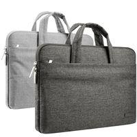 рукав для ноутбука 17 оптовых-11-15.6 дюймов ноутбук рукав портфель водоотталкивающая сумка для MacBook Air Pro поверхность iPad Dell hp Chromebook чехол ноутбук сумка