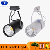 30W AC85-265V 2700LM COB Rail Track LED lampada del riflettore orientabile per Shopping Mall Clothes Store Office Exhibition Usa