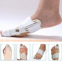 Correttore Splint Hot Bunion Hallux Valgus Straightener Toe Separatore Rilievo del dolore (Colore: Bianco)