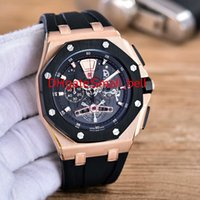 Wholesale boutique watches quartz for sale - Luxury AAA quality RO OO A002CA Royal Oak boutique men s watches imported VK quartz movement MM L stainless steel shell EJ