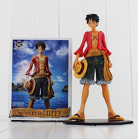 Wholesale one piece figure monkey - One piece Monkey D Luffy figure action toys PVC Figure Model toy 25cm free shipping retail
