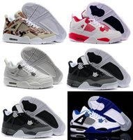 Compre agora China Shoes 4 Basketball Retro Sports Sneakers Mulheres Homens China Man Zapatillas Authentic Original Real Replicas