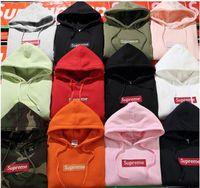 Wholesale Women Fleece Hooded Long Cardigan - 2017 High quality Women and Men Hooded fleece Jacket Sup Sports cardigan Students Hip-hop palace hoodies Coat Tops