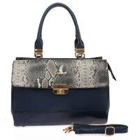 Wholesale Shoulder Bag Elegant Lady - Clearance On Sale Woman Handbag Brand Designer Totes Lady Elegant Vintage Handbags PU Leather Ladies Serpentine Shoulder bags SY1576