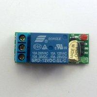 interruptor retrasado al por mayor-1 Canal DC 12V Alto Nivel Módulo de relé para el interruptor del retardo de sensores táctiles