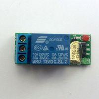 verzögerungsrelaismodul großhandel-1-Kanal-DC 12V auf hohe Niveau Relaismodul für Touch-Sensor-Verzögerungs-Schalter