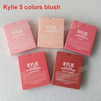 Wholesale Pressed Blush - Best quality Kylie Jenner makeup matte pressed powder 5 color blush Kylie cosmetics,in stock,good quality, free shipping