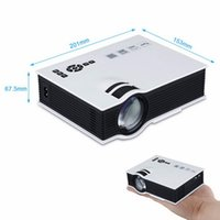UNIC UC40 + Mini Pico proyector portátil LCD LED 3D Proyector 800 Lumens HD Home Theater USB HDMI TV Beamer Reproductor Multimedia