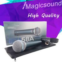 High Quality BETA58 !! Vocal Handheld Dynamic Wired Microphone Beta58 Super-cardioid Microfone Beta 58 A Mic