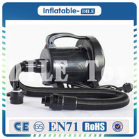 Wholesale Roller Water - Free shipping 1200W Electric Air Pump Air Blower For Bubble Soccer,Bumper Ball,Bubble Football,Water Roller Ball,Zorbing Ball
